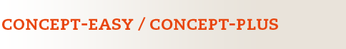 CONCEPT EASY/ CONCEPT PLUS Logo